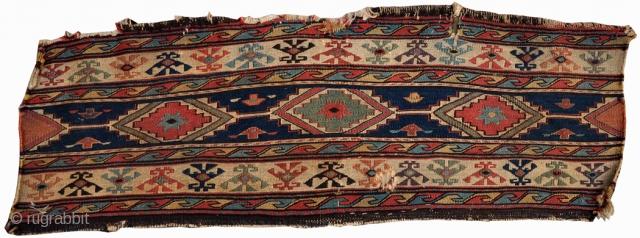 Antique Shashavan mafrash, cm 90 x 31