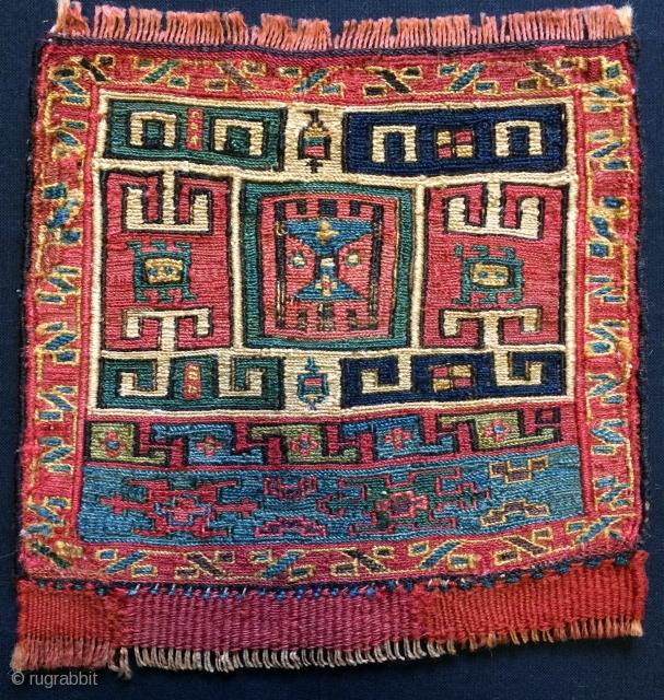 Shahsavan bag face size 18x18 cm