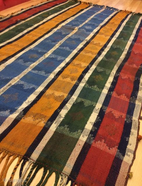 rare a very nice qhajgai curtain size 235x160cm