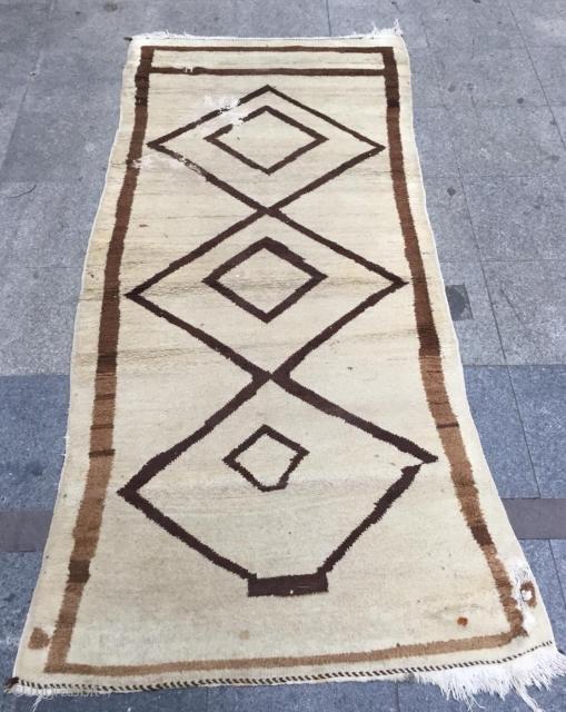 Persian gabbeh size 245x110cm