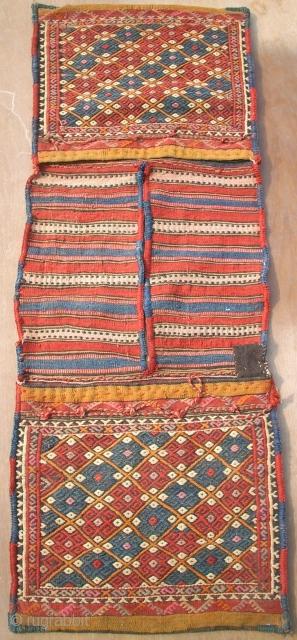 Nice, old anatol sumakh Heybe. Size: 121 x 43 cm. Good condition.
