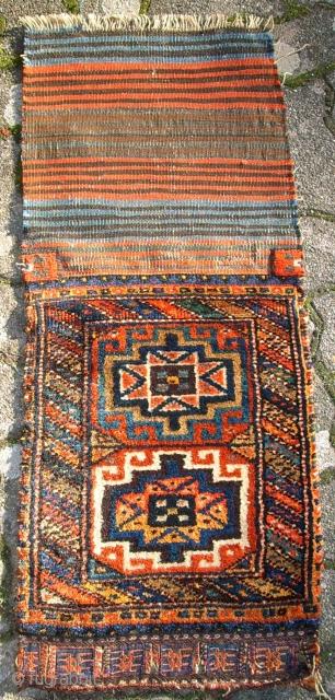 Old kurdish bag. Size: 50 x 38 cm. Perfect wool. Wonderful colors.