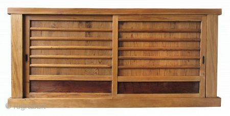 Japanese Antique Single Section Mizuya