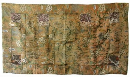 Japanese Antique Kesa, Buddhist Monk's Vestment