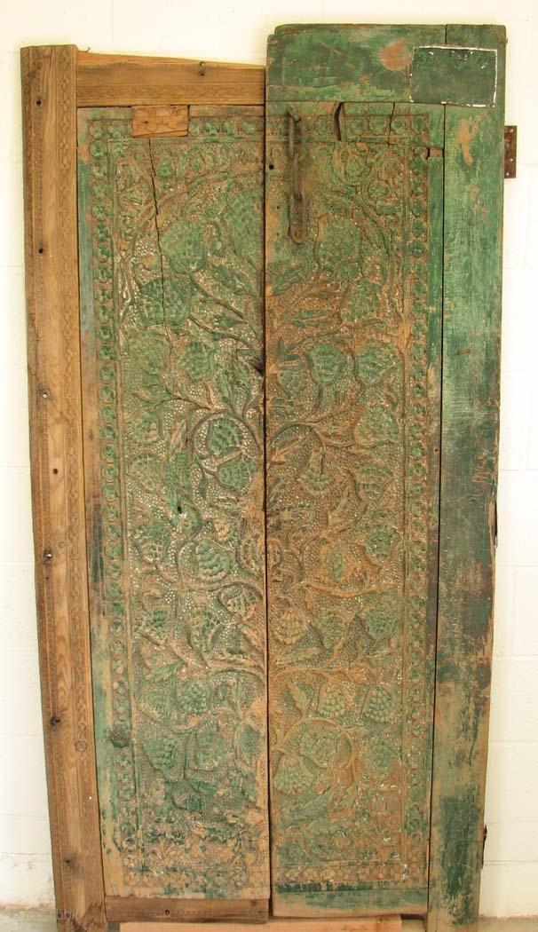 Wood003 Wood Door Pakistan 19th Century Or Earlier 75
