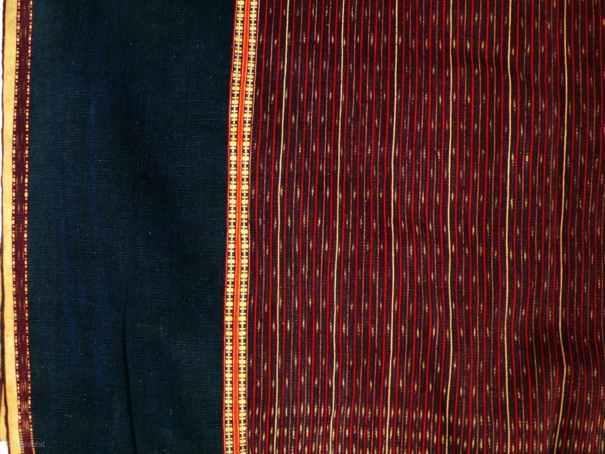 Large Blanket Ulos Toba Batak Sumatra Indonesia Mid