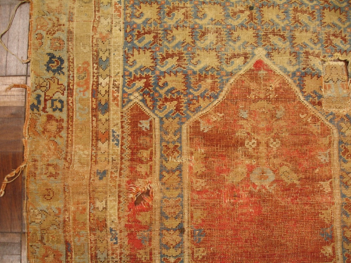 3 1 X 4 10 18th Century Turkish Prayer Rug