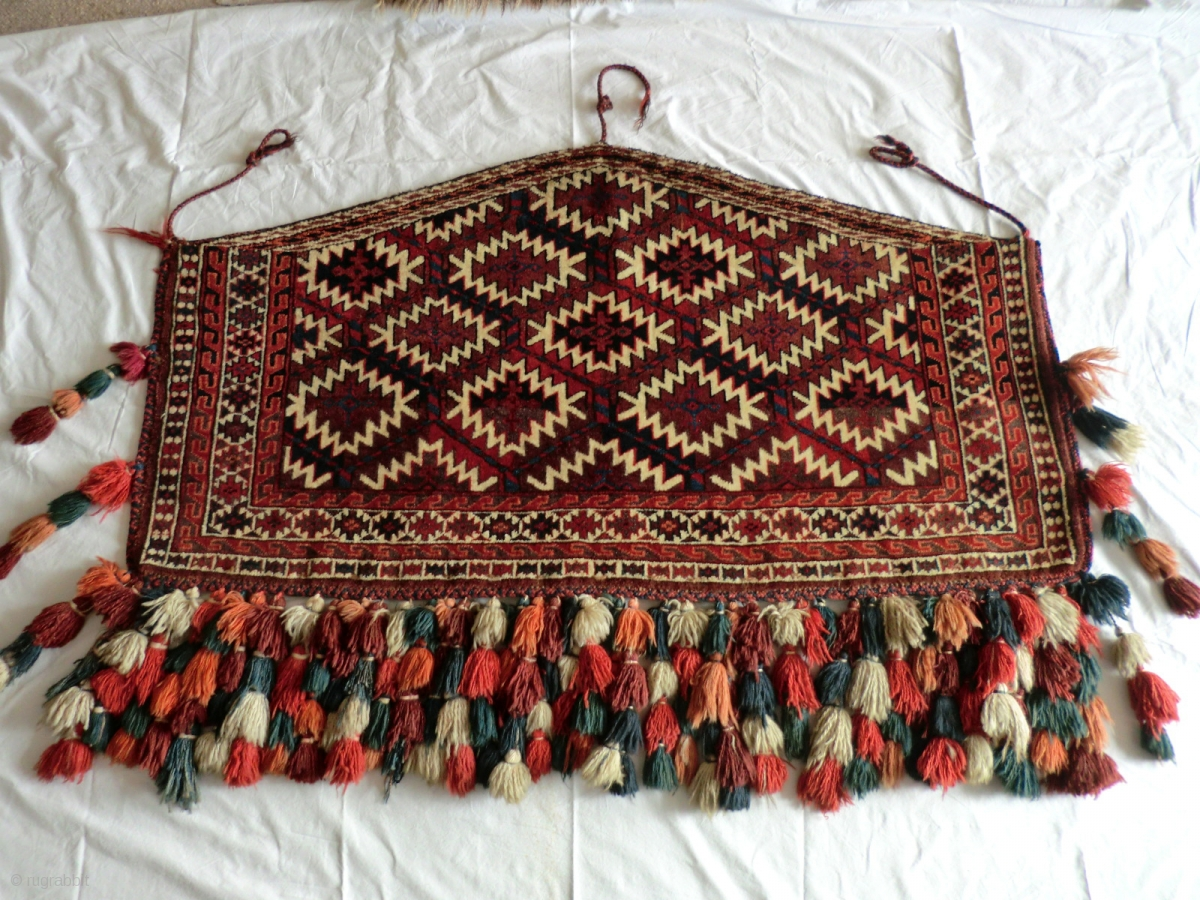 Antique Yomut Asmalik In Mint Condition 119 Cm By 62 Cm