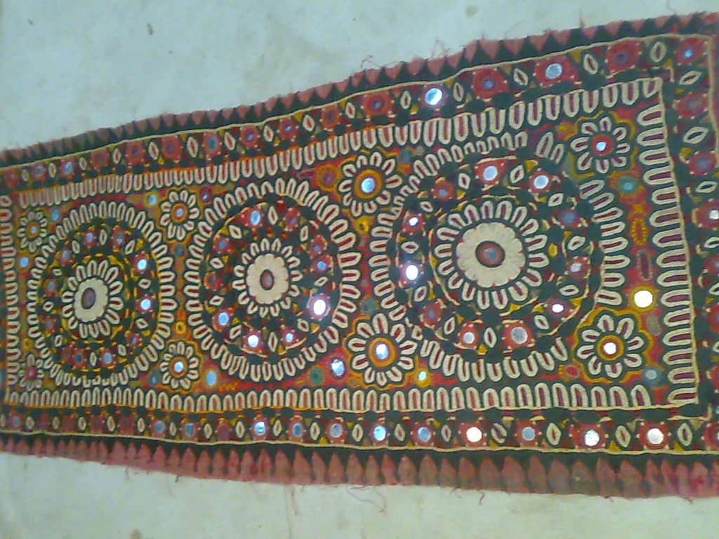 Old Hand Made Pillow In Good Condition From Jaisalmer