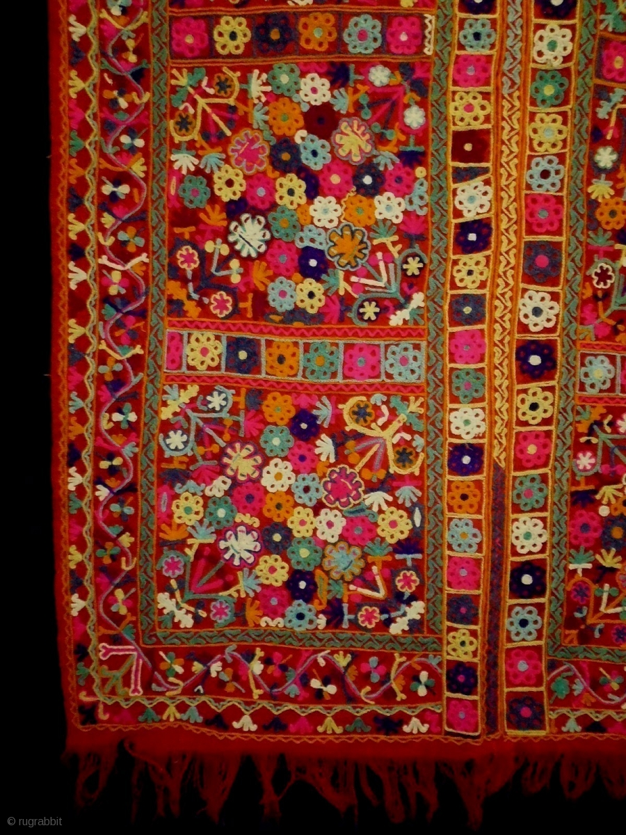 Very Fine Syrian Nomad Textile Size 127x200cm 4 2x6 7ft