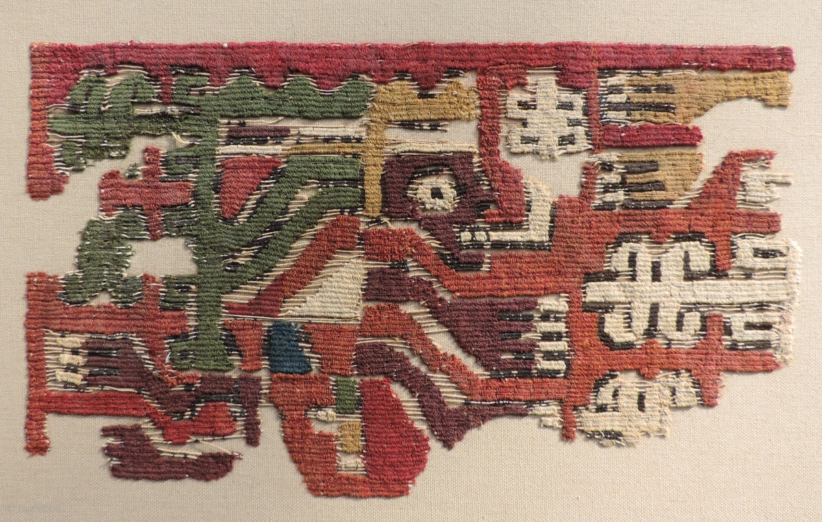 Various Interesting Pre-Columbian textiles at excellent