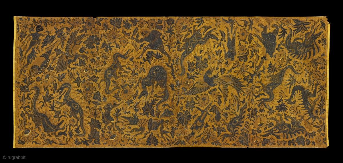 TE01812 1930s Kain Panjang Batik Tulis 6766573d72