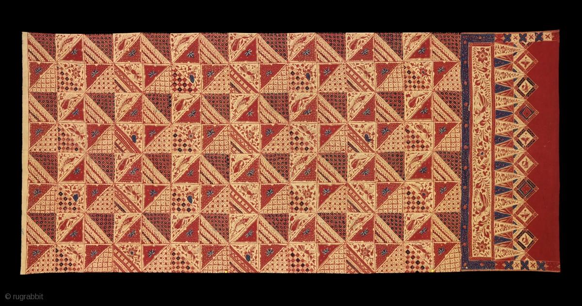 TE01396 1940s Kain Panjang Batik Tulis Cap 1fc12ae19f