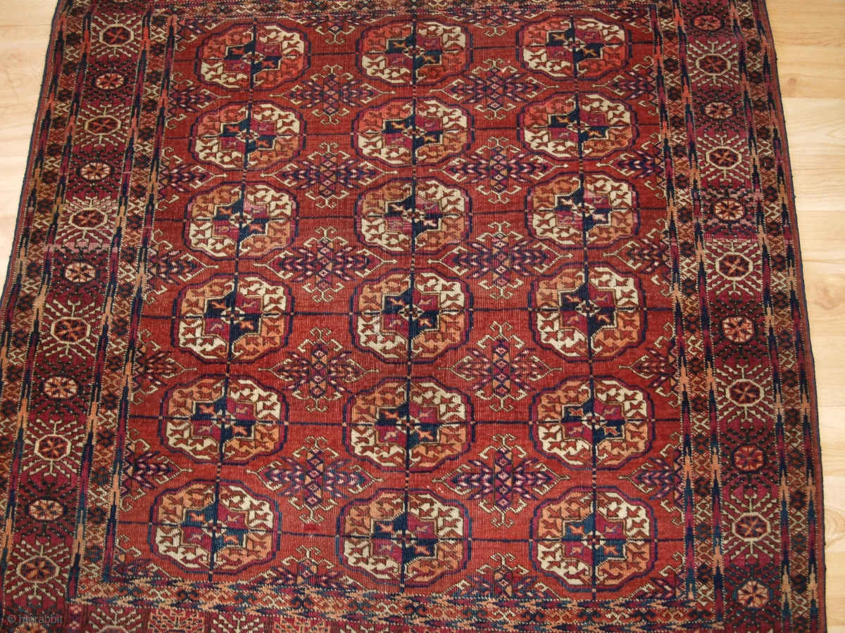 Www Knightsantiques Co Uk Antique Tekke Turkmen Rug Of Small Size With