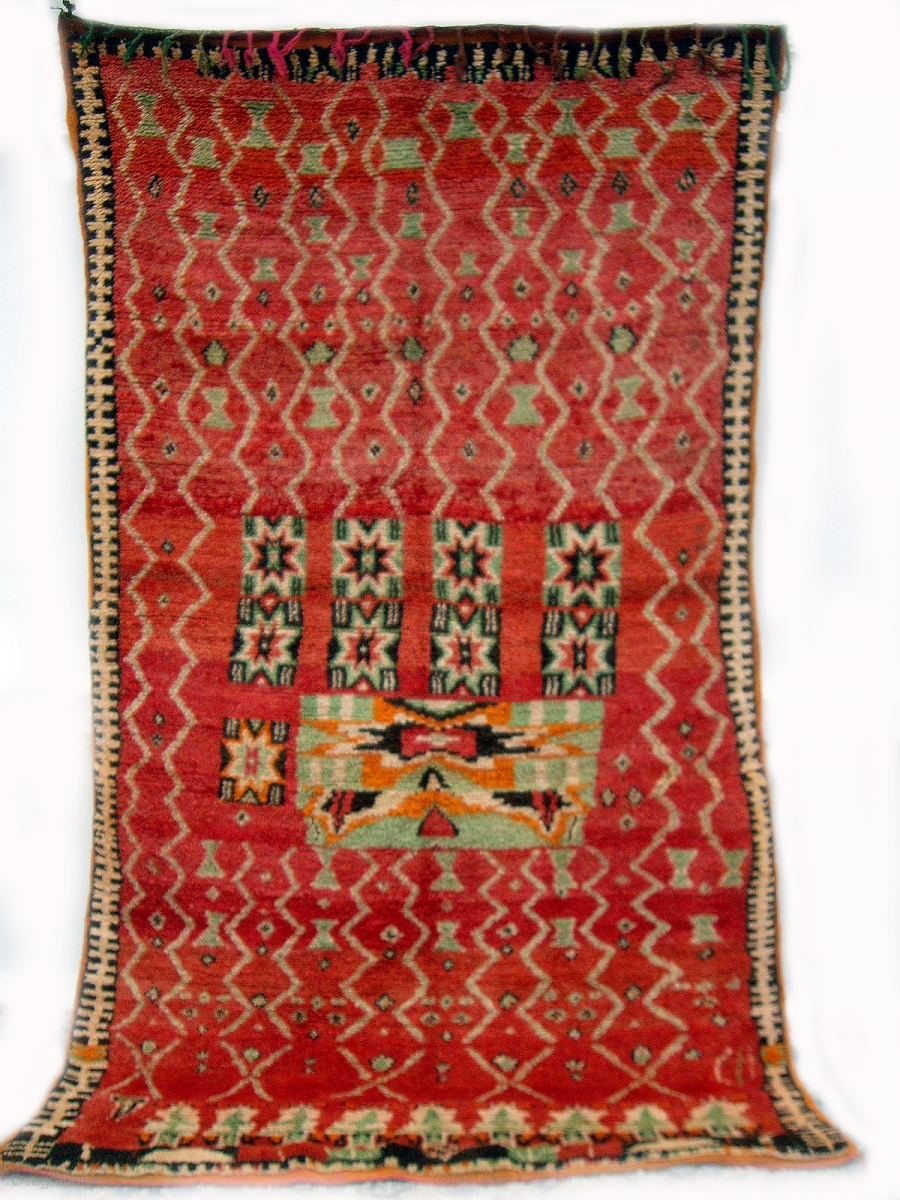 Moroccan Berber Anti Atlas Rug From The Little Known Beni