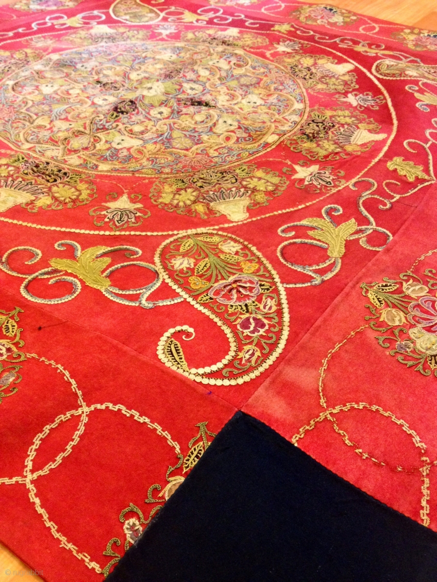 The Resht Embroidery Old Persian Textiles Decorative Your