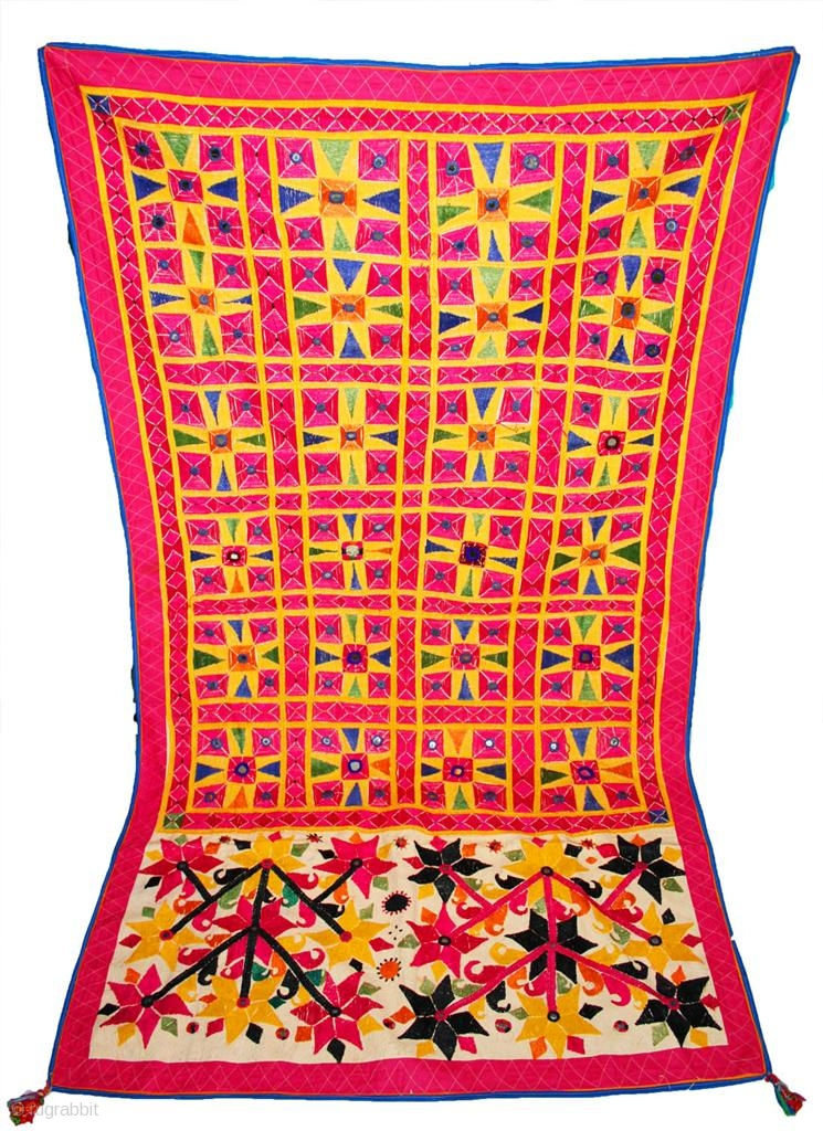 Antique Vintage Exquisite Kutch Banjara 100s Hand Embroidered With