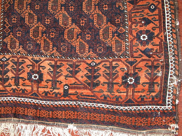 Belouch Boteh Rug What A Beauty In Pretty Good Shape