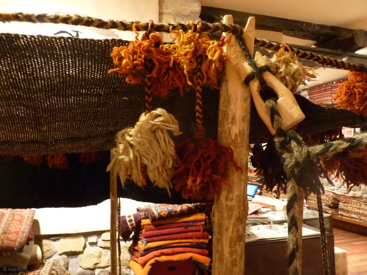 Small Qashqai Migration Tent Ideal For Exhibitions Shop