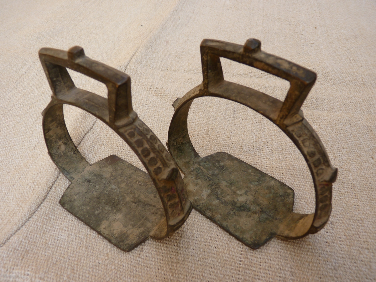 A Pair Of Horse Stirrups From Iran Ideal For A Horse