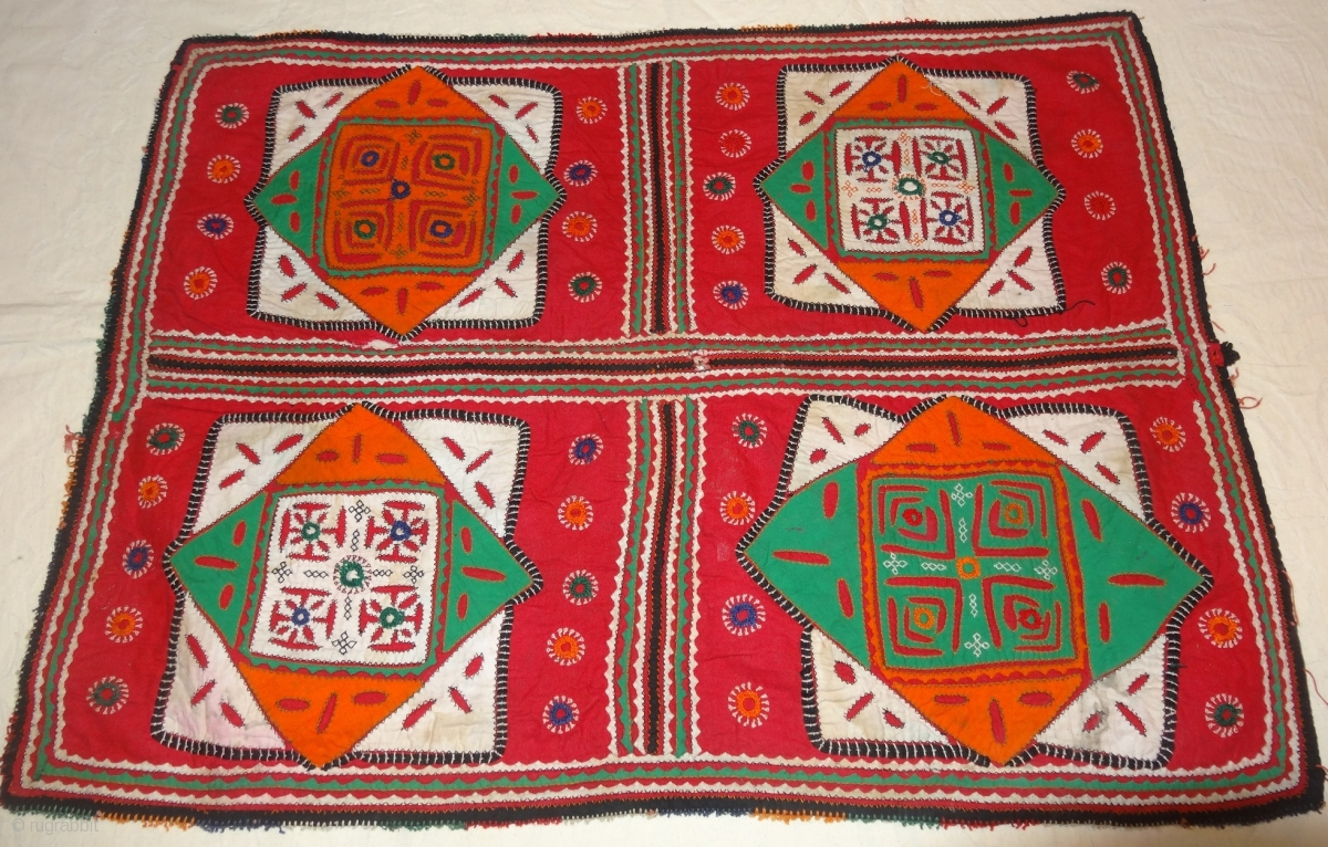 Ralli Quilt Applique Patchwork From Sindh Region Of India