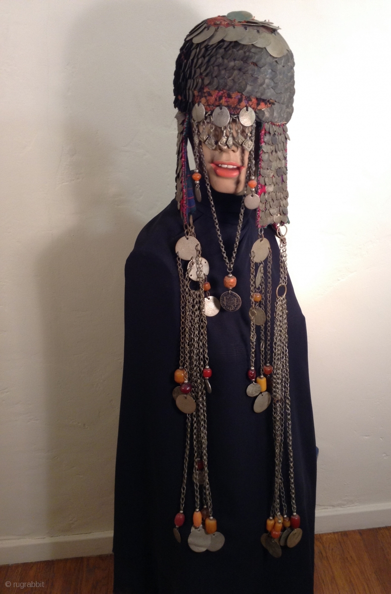 This Is A Very Dramatic Headpiece That I Believe Comes