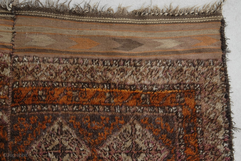 Taimani Two Piece Sleeping Rug Central Afghanistan