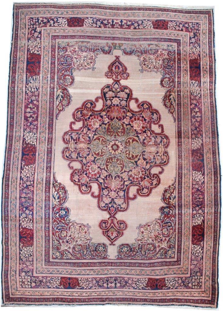 7072 Antique Kermanshah Persian Rug