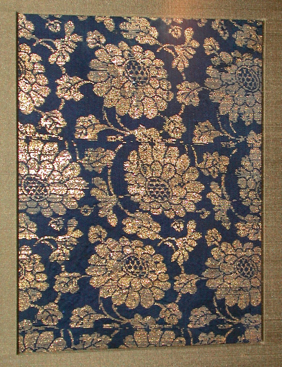 Chinese Textile Ming Dynasty T380 9 1 2 Quot X 7 1 4 Quot 1368
