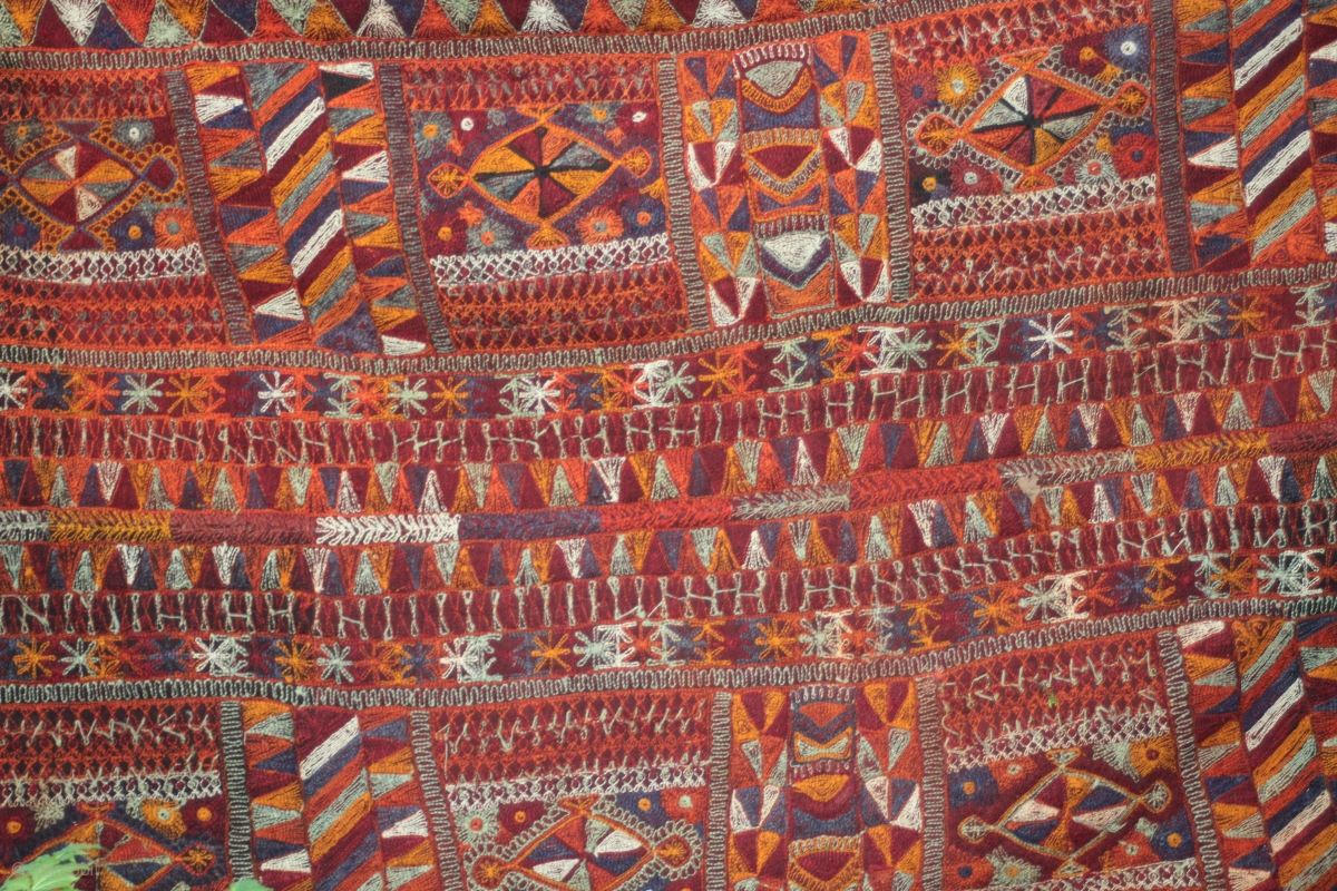 Mesopotamian Wedding Blanket Kilim From The Marsh Arabs