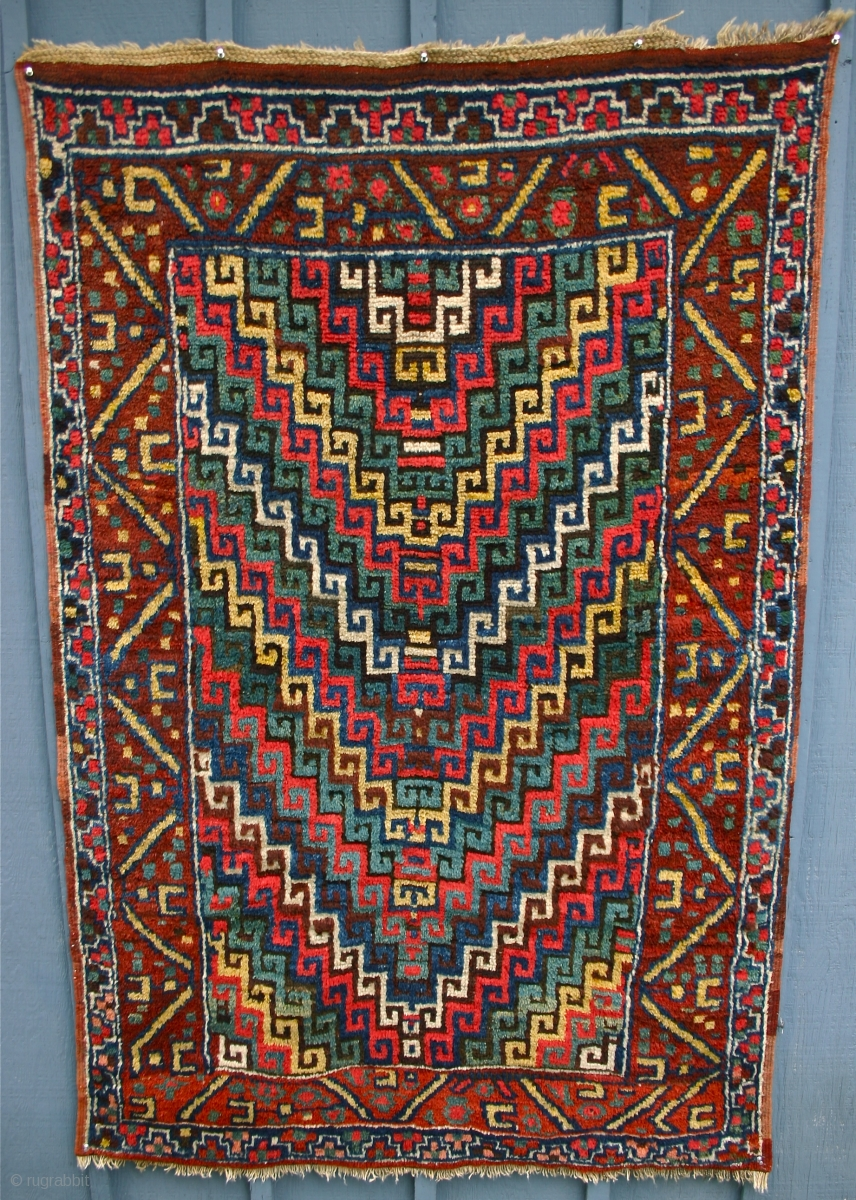 Erzerum Village Rug Circa 1875 This East Anatolian Is Really