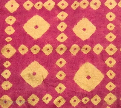 A Pair Of Pelangi Silk Head Scarfs From Cambodia They