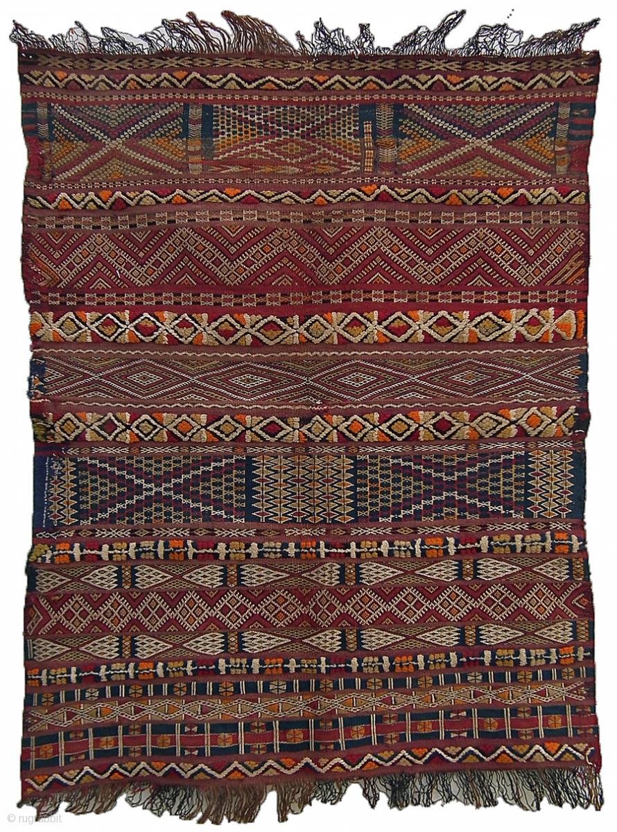Cushion Cover A Splendid Example Of Intricate Weaving And