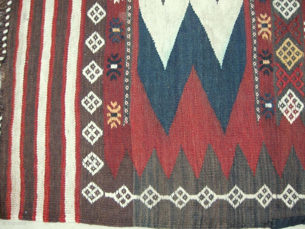 This Pictured Piece A Uzbek Tadjik Kilim Is An