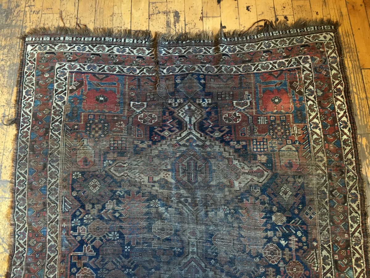 Back Room Storage Clean Out Old South Persian Rug Dirty