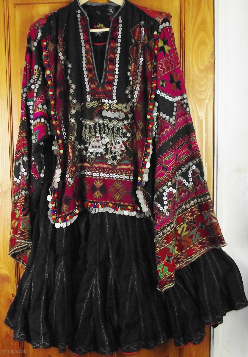 Exceptionally Fine Kohistani Dress Called A Jumlo