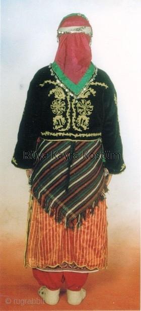 East Anatolian Woman S Traditional Shawl Belt Called A şal