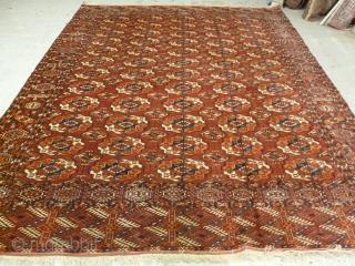 Tekke main carpet, 3.00m  x2.30m, circa 1890. Excellent condition