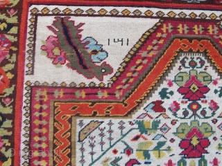 "19th century Karabagh Rug 2.27m x 1.27m (7'4"" x 4'2"")"