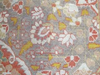 "Pale and Decorative Tabriz Carpet, circa 1900, 3.45m x 2.42m (11'3"" x 8')"