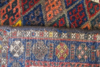 Large Kurdish Bagface, 100cm x 77cm, very nice wool and good dyes. Excellent condition. Reasonable Price.
