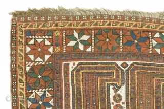 "Afshar Boteh rug, First quarter 20th century, 250 x 164 cm. ( 98""x 64,5"")