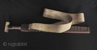 India~ Digaro Mishmi Sword: Rare Mishmi parang or da from the Digaro subgroup Arunachal Pradesh, India. This piece is contemporary and was acquired by a friend who took part in an expedition doing  ...