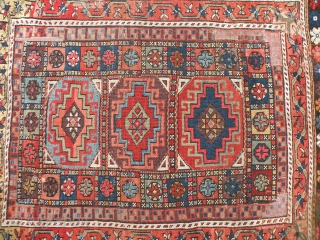 Antique Anatolian rug 113x128 cm