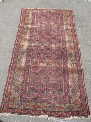 Antique northwest Persian rug, 112x210 cm