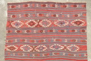 Antique Bergama kilim,150x208 cm