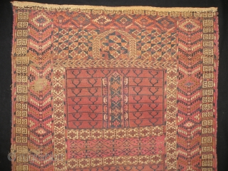 Antique Turkmen Tekke Engsi, 120x150 cm