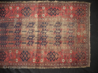 Antique Baluch rug 80 x 124cm
