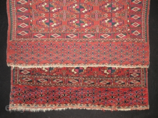 Antique Turkmen Small rug 95 x 140cm