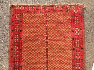 Turkmen Beshir prayer rug 87x140cm